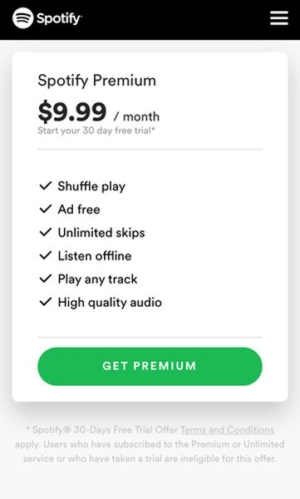 Spotify Premium V S  Non-Premium | dohack