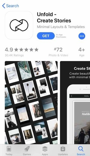 How to Use Unfold- Create Stories App: Templates for Your Instagram
